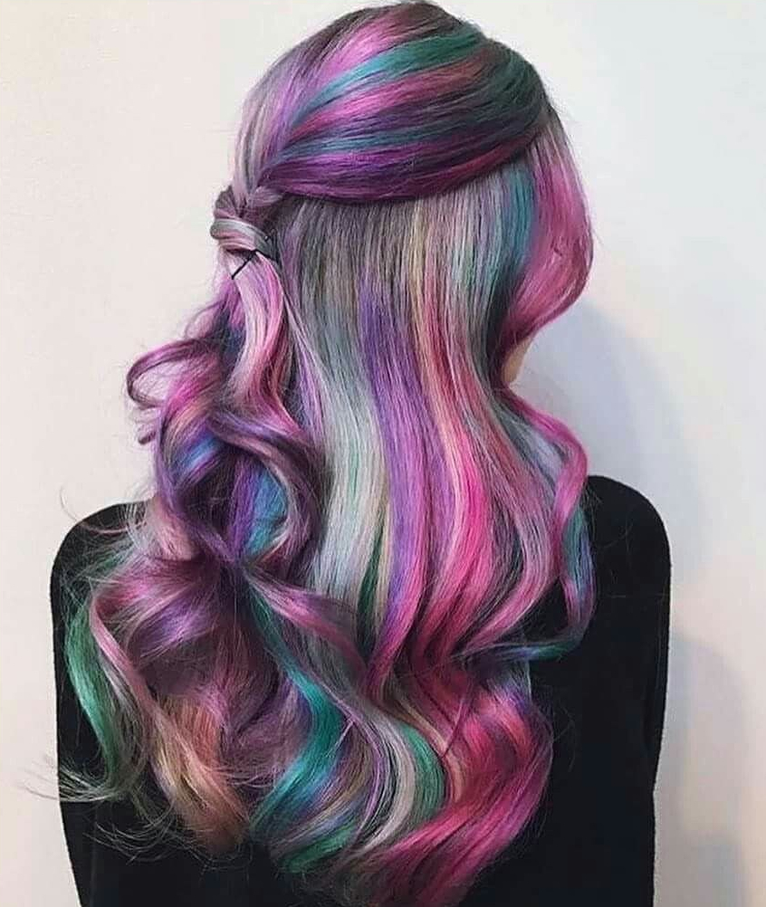 colorful hair ideas 138214 Pin by Savannah Sikes on Hair Makeup Nails Pinterest